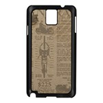 Background 1706636 1920 Samsung Galaxy Note 3 N9005 Case (Black) Front