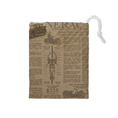 Background 1706636 1920 Drawstring Pouch (medium) by vintage2030