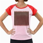Background 1706644 1920 Women s Cap Sleeve T-Shirt Front