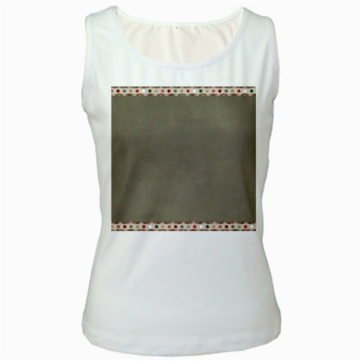Background 1706644 1920 Women s White Tank Top