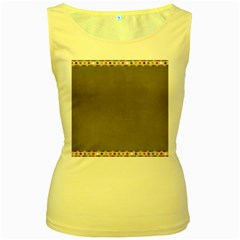Background 1706644 1920 Women s Yellow Tank Top