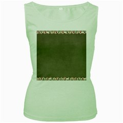 Background 1706644 1920 Women s Green Tank Top