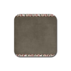 Background 1706644 1920 Rubber Square Coaster (4 pack)