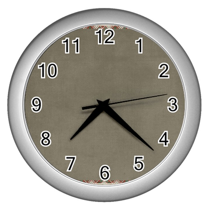 Background 1706644 1920 Wall Clock (Silver)