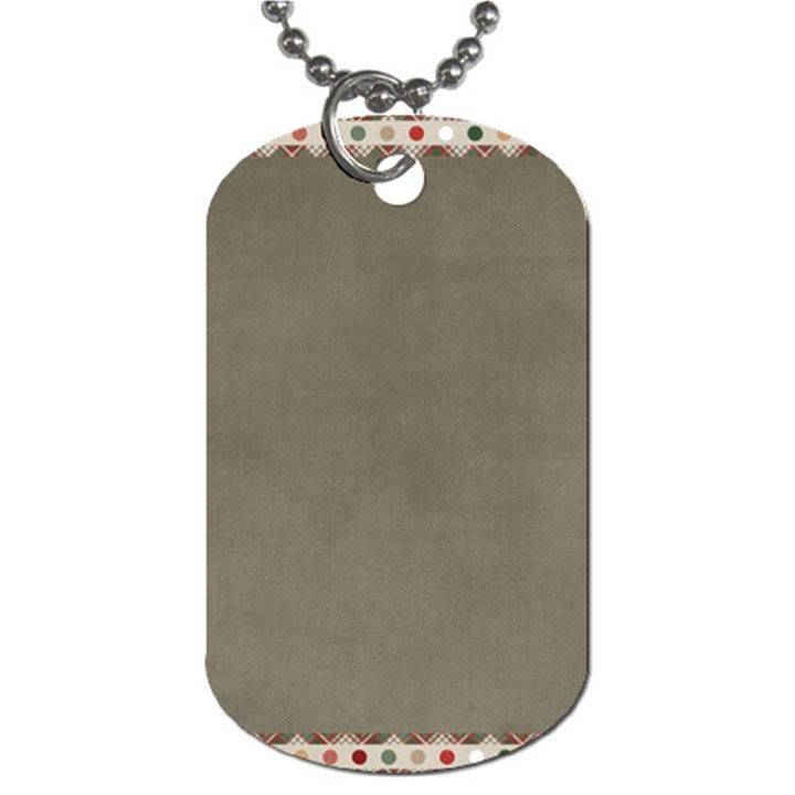 Background 1706644 1920 Dog Tag (Two Sides)