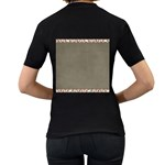 Background 1706644 1920 Women s T-Shirt (Black) (Two Sided) Back