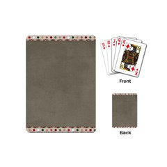 Background 1706644 1920 Playing Cards (Mini)