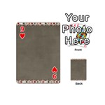 Background 1706644 1920 Playing Cards 54 (Mini) Front - Heart9