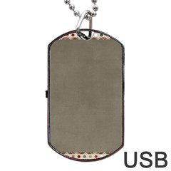Background 1706644 1920 Dog Tag USB Flash (Two Sides)