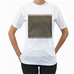 Background 1706644 1920 Women s T-Shirt (White)  Front