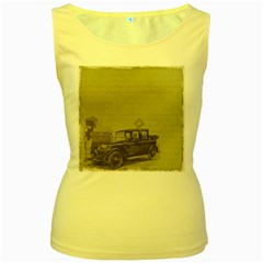 Background 1706642 1920 Women s Yellow Tank Top