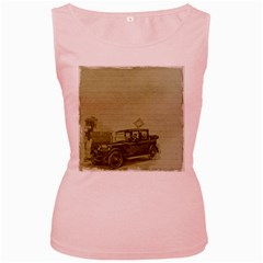 Background 1706642 1920 Women s Pink Tank Top