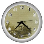 Background 1706642 1920 Wall Clock (Silver) Front