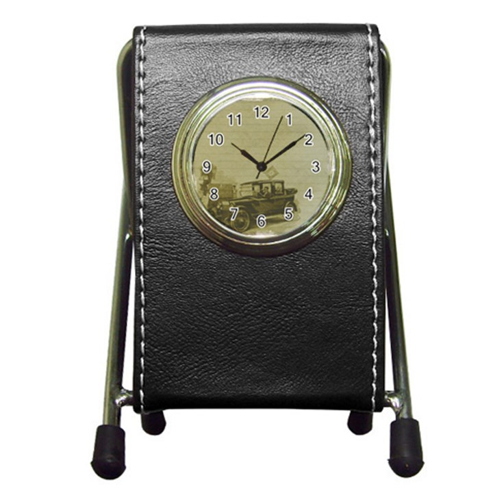 Background 1706642 1920 Pen Holder Desk Clock