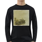 Background 1706642 1920 Long Sleeve Dark T-Shirt Front
