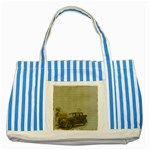 Background 1706642 1920 Striped Blue Tote Bag Front