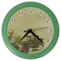 Background 1706642 1920 Color Wall Clock by vintage2030
