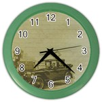 Background 1706642 1920 Color Wall Clock Front