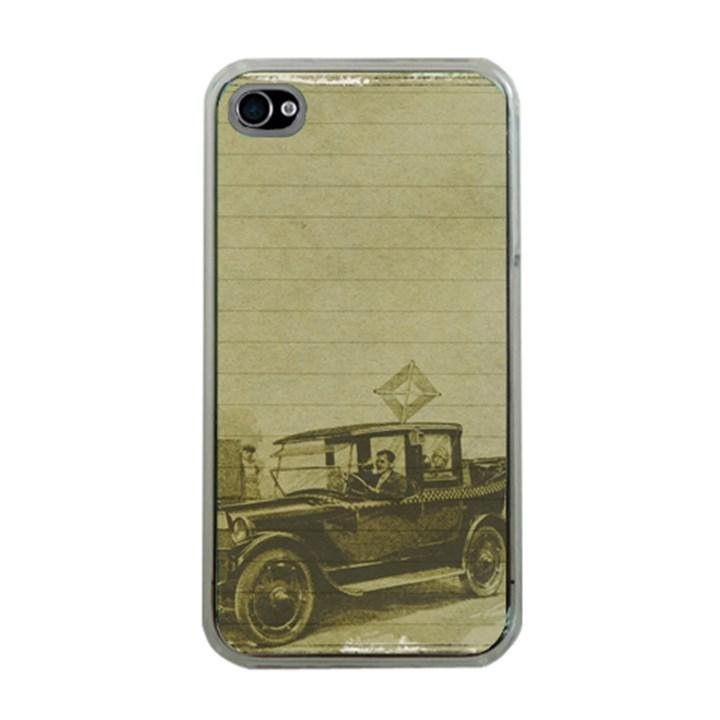 Background 1706642 1920 Apple iPhone 4 Case (Clear)