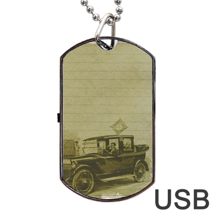 Background 1706642 1920 Dog Tag USB Flash (Two Sides)