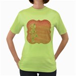Tag 1659629 1920 Women s Green T-Shirt Front