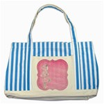 Tag 1659629 1920 Striped Blue Tote Bag Front