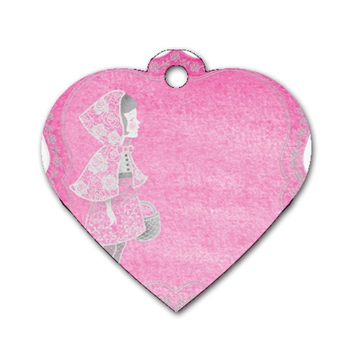 Tag 1659629 1920 Dog Tag Heart (One Side)