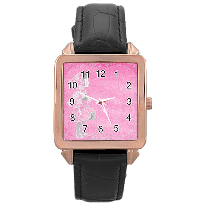 Tag 1659629 1920 Rose Gold Leather Watch