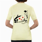 Manloveswoman Women s Yellow T-Shirt Back
