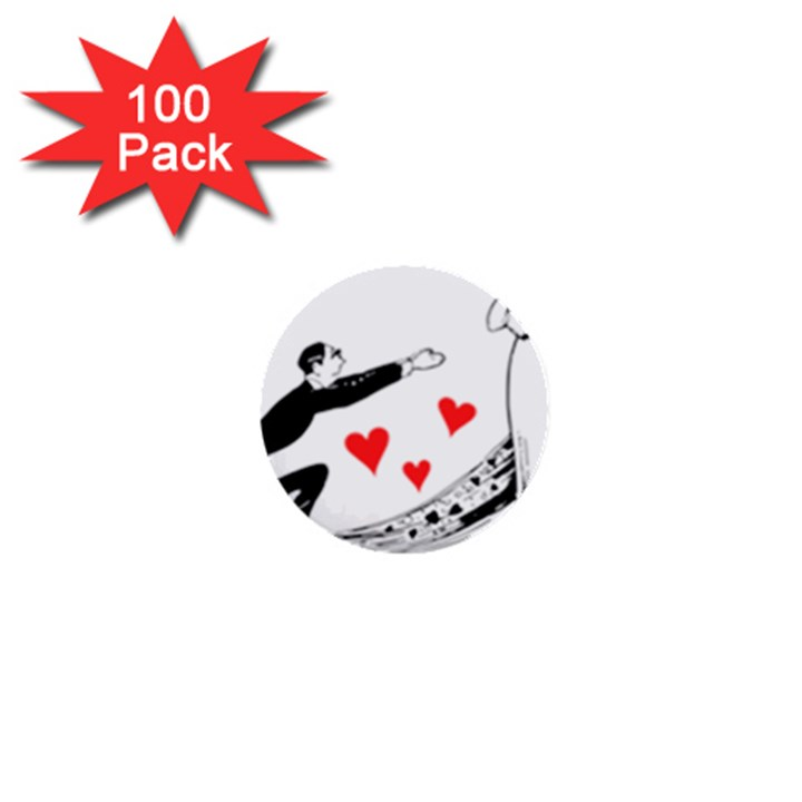 Manloveswoman 1  Mini Buttons (100 pack)