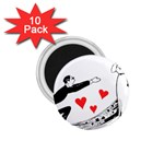 Manloveswoman 1.75  Magnets (10 pack)  Front