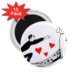 Manloveswoman 2.25  Magnets (10 pack)  Front