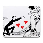 Manloveswoman Large Mousepads Front