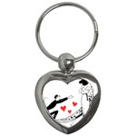 Manloveswoman Key Chains (Heart)  Front