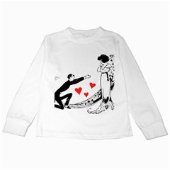 Manloveswoman Kids Long Sleeve T Shirts