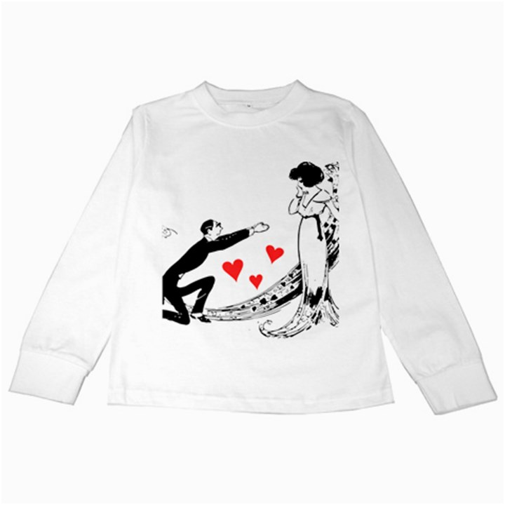 Manloveswoman Kids Long Sleeve T-Shirts