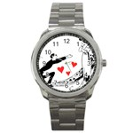 Manloveswoman Sport Metal Watch Front