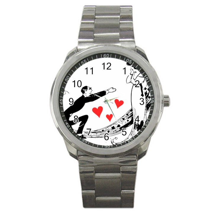 Manloveswoman Sport Metal Watch