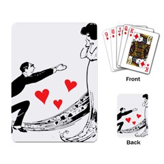 Manloveswoman Playing Cards Single Design