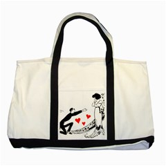 Manloveswoman Two Tone Tote Bag