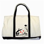 Manloveswoman Two Tone Tote Bag Front