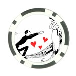 Manloveswoman Poker Chip Card Guard Back