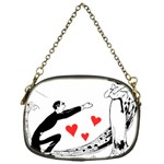 Manloveswoman Chain Purse (One Side) Front