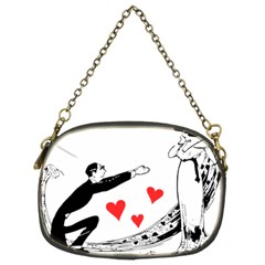 Manloveswoman Chain Purse (two Sides)