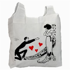 Manloveswoman Recycle Bag (two Side)