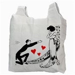Manloveswoman Recycle Bag (Two Side) Back