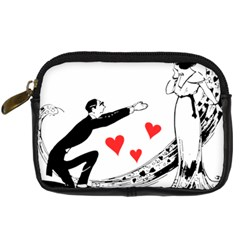 Manloveswoman Digital Camera Leather Case