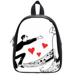 Manloveswoman School Bag (Small) Front