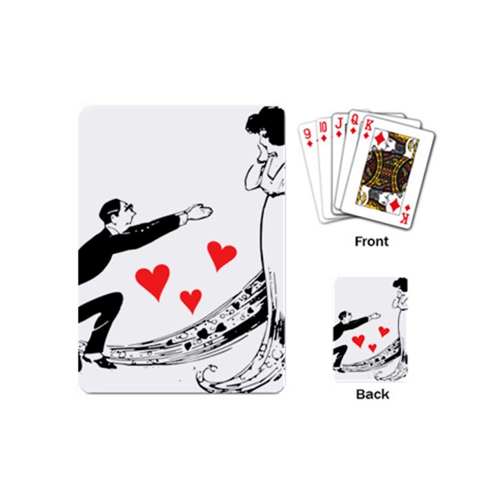 Manloveswoman Playing Cards (Mini)