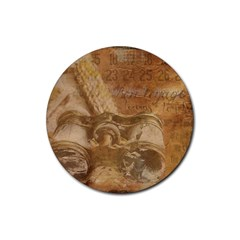 Background 1660940 1920 Rubber Coaster (round)  by vintage2030